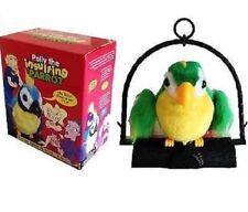 Polly IL PARROT offensivo PARLANTE Movimento Sensore Maleducato odioso OFFENSIVA giocattolo BN