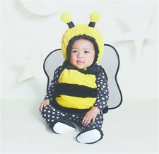 Hyde & Eek Baby Costume Halloween Bumble Bee Vest Wings Booties Size 6/12 Months