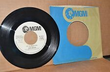 JERRY WEAVER YOU ARE THE GIRL FOR ME & LET THE MUSIC PLAY; MGM MINT- WL PROMO 45