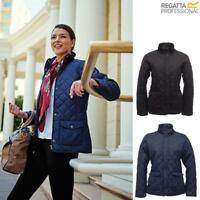 Regatta Ladies Tarah Diamond Quilted Water Repellent Jacket - TRA442