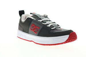 DC Lynx OG ADYS100425 Mens Gray Leather Skate Sneakers Shoes