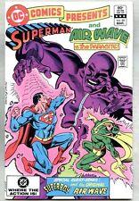 DC Comics Presents #55-1983 fn+ Superman and Air Wave Vs Parasite