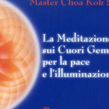 CD AUDIO LA MEDITAZIONE SUOI CUORI GEMELLI PER LA PACE E L'ILLUMINAZIONE