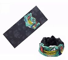 Ski black ops Biker cod style Scarf Skull Face Mask Snood Neck sports EYE BALL