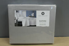 Hotel Collection 680 Thread Count Supima Cotton King Fitted Sheet Palladium Grey