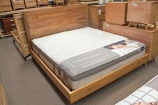 Lex Marinos 4 Piece Bedroom Suite - Solid Marri Timber - Floating Bed End