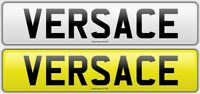 VERSACE - VE65ACE DESIGNER CHERISHED PRIVATE NUMBER PLATE RARE BOSS F1 C63 AMG