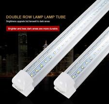 V Shape Integrated T8 Led Tube Fixture 2Ft 4Ft 5Ft6Ft 8Ft Cooler Door Shop Light