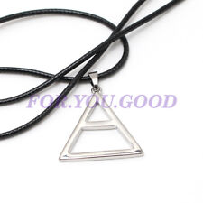 "Thirty 30 Seconds To Mars Triad Triangle Silver Necklace Pendant 20""  Free Chain"