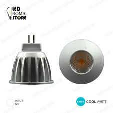 FARETTO LED COB SHARP MR11 3W LUCE COOL FREDDA 6000K 6500K