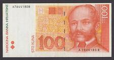 CROATIA  100 Kuna ND 2004  VF+    PROPAGANDA ADVERTISING NOTE - Algebra Zagreb