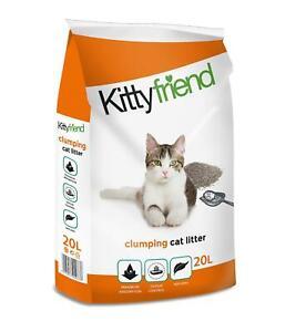 Sanicat Kitty Friend Clumping Cat Litter Maximum Absorption 20 Litre
