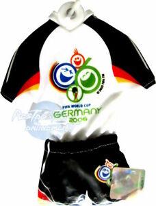 DFB Fussballweltmeisterschaft Fussball Fifa Mini Kit Trikot  WM 2006 15cm  NEU