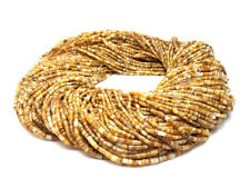 Goldlip Mother of Pearl Shell Heishi Beads (2 - 3 mm / 24 Inches Strand)