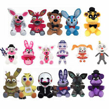 """Hot Five Nights at Freddy's FNAF Horror Game Plush Dolls Kids Plushie Toy 7"""" ^^"""