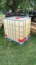 Ibc 275 gallon Liquid Storage Tote Garden Rain Water Collection