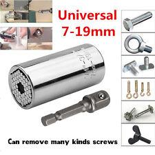 Universal Set Tool 2 Pcs Mechanics Socket Wrench Craftsman Piece Sockets Ratchet
