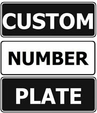 Custom Design Your Own Slimline  Novelty Number Plate