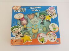 The Fairly Odd Parents Flop Swop Fairies Figures Nickelodeon Cosmo Wanda Swap