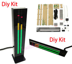 AS60 LED Music Spectrum Display Analyzer Stereo  Level Indicator VU Meter Kits