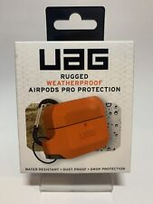 Authentic Urban Armor Gear UAG Weatherproof AirPods Pro Silicone Case (Orange)