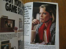 1986 TV Guide(SHELLEY  HACK/THE A-TEAM/TOM  MASON/JACK AND MIKE/THE  CAVANAUGHS)