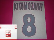 Flocage officiel PSG Paris T. MOTTA n°8 2013 14 domicile