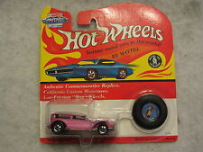 Hot Wheels  Vintage Collection The Demon  Pink  1:64 scale NOC  W-04