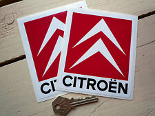 "CITROEN Race Car Stickers 4"" Pair SAXO C2  RALLY DECALS Chevron Sport Gti Xsara"