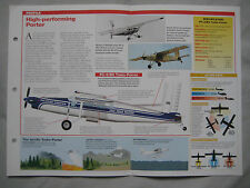 Aircraft of the World Card 145 , Group 4 - Pilatus PC-6