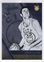 2016-17 Panini Absolute #113 #/999 Jerry Lucas San Francisco Warriors Retired