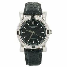 Cuervo Y Sobrinos Classic Driver A.2912 Men's Automatic Watch Diamond Bezel 39MM