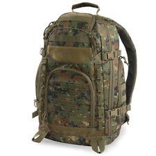 Marines USMC MARPAT Marines Woodland Military Camo Backpack Pack Molle USA Flag