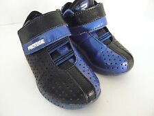 Protege Toddler Boys Athletic Sneakers Shoes~Blue & Black~Size 7 M~Velcro
