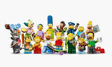 Lego Minifigures Serie Simpsons, Completa - Complete Series 16pcs Mini Figures