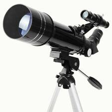 AOMEKIE AO2002 (400 x 70 mm) Refractor Astronomy Telescope Kit, Portable - Black