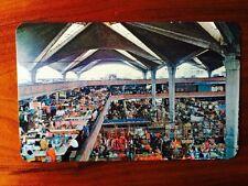 Vintage Postcard Guadalajara Jalisco Mexico MERCADO LIBERTAD Liberty Market