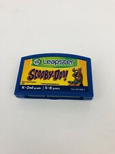 LeapFrog LEAPSTER  Learning Game System Cartridge SCOOBY-DOO!