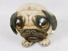 Fur Balls Bulldog Puppy ~ Cute, Cuddly Round Plush Pets, 3D Graphics, Style #14