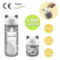 Baby's Portable UV Ozone Sterilizer Outdoor Travel Sanitizer Bottle Pacifier