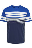 Only & Sons Mens Short Sleeve T Shirt Striped Crew Neck Summer Casual Tee Tops