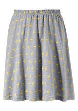 Aniston Femme Jupe Mini Effet Froissé Plissée Gris Taille 34 617482