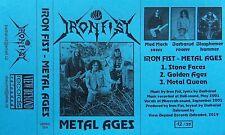 IRON FIST (Cz) - Metal Ages 2001 ( 2019 edition ) heavy metal Maniac Butcher