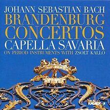 JOHANN SEBASTIAN BACH: BRANDENBURG CONCERTOS NEW CD