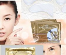 10 pairs Collagen Crystal Eye Mask Deep Moisture Anti wrinkle bags,patche
