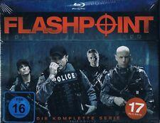 Blu-Ray FLASHPOINT COMPLETE TV SERIES SEASON 1+2+3+4+5 Enrico Colantoni Region B