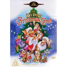 AN ALL DOGS CHRISTMAS CAROL - BRAND NEW & SEALED DVD (REGION 4)