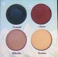 The Balm theBalm Mont Balm Eyeshadow Palette 4 Quality Shades NIB w/Mirror Nice!