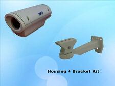 Outdoor Weatherproof + Fan Heavy Duty Policarbonate CCTV Security Camera Housing