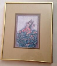 "Graciela Rodo Boulanger ""A Butterfly for Aniko"" Lithograph custom framed"